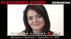 Casting of ALEXANDRA QUEEN video