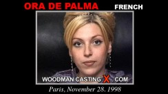 Casting of ORA de PALMA video