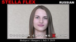 Watch our casting video of Stella Flex. Erotic meeting between Pierre Woodman and Stella Flex, a Russian girl.