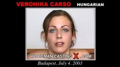 Casting of VERONIKA CARSO video