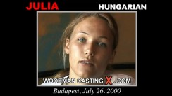 Casting of JULIA video