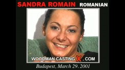 Casting of SANDRA ROMAIN video
