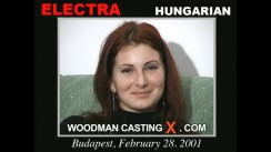 Casting of ELEKTRA video