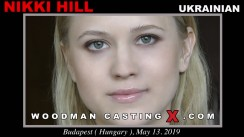 Access Nikki Hill casting in streaming. A Russian girl, Nikki Hill will have sex with Pierre Woodman.