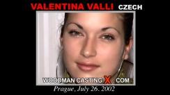 Casting of VALENTINA VALLI video