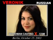See the audition of Veronik