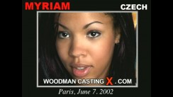 Casting of MYRIAM video