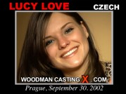 See the audition of Lucy Love
