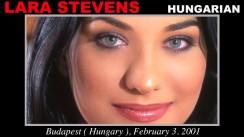 Casting of LARA STEVENS video