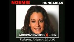 Casting of NOEMIE video
