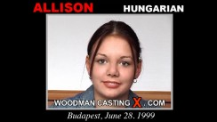 Casting of ALLISON video