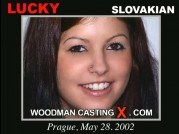 See the audition of Lucky