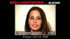 Casting of GIGI LIGHTSPEED video