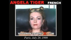 Casting of ANGELA TIGER video