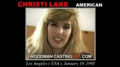 Casting of CHRISTI LAKE video