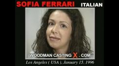 Casting of SOFIA FERRARI video