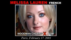 Casting of MELISSA LAUREN video