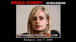 Casting of ERIKA HORNY video