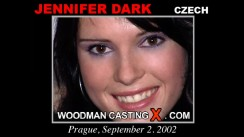 Casting of JENNIFER DARK video