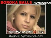 See the audition of Boroka Balls