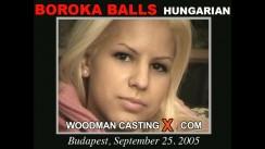 Casting of BOROKA BALLS video
