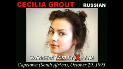 Casting of CECILIA GROUT video