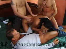 Demonia   Xxxx   Bed + 3 Boys