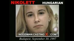 Casting of NIKOLETT video