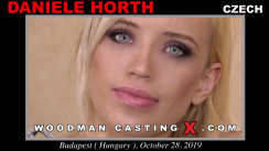 Watch our casting video of Daniele Orth. Pierre Woodman fuck Daniele Orth, Czech girl, in this video.