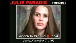 Casting of JULIE PARADIS video