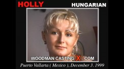 Casting of HOLLY video