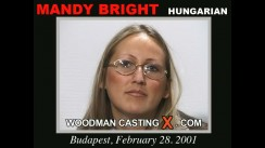 Casting of MANDY BRIGHT video