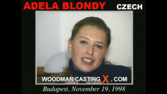 Casting of ADELA BLONDY video