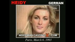 Casting of HEIDY video