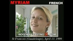 Casting of MYRIAM video