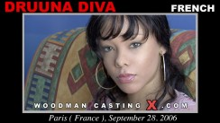 Casting of DRUUNA DIVA video