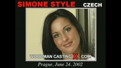 Casting of SIMONE STYLE video