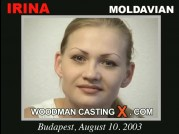 See the audition of Irina