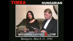 Casting of TIMEA and BOB video