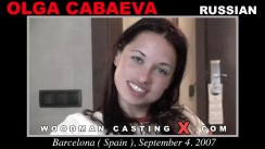 Casting of OLGA CABAEVA video