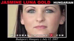 Casting of JASMINE LUNA GOLD video