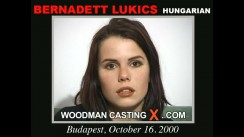 Casting of BERNADETT LUKICS video