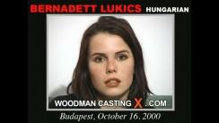 Casting of BERNADETT LUKICS video