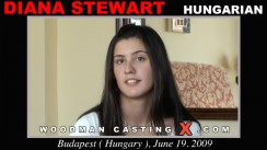 Casting of DIANA STEWART video