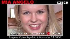 Casting of MIA ANGELO video