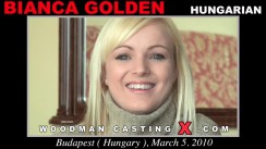 Casting of BIANCA GOLDEN video