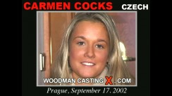 Casting of CARMEN COCKS video