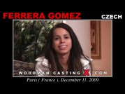 See the audition of Ferrera Gomez