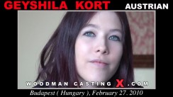 Casting of GEYSHILA KORT video