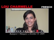 See the audition of Lou Charmelle